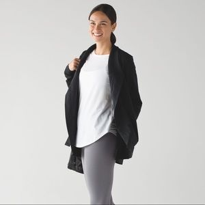 Lululemon belle wrap sweater
